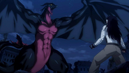 Gajeel vs. Dark Dragon