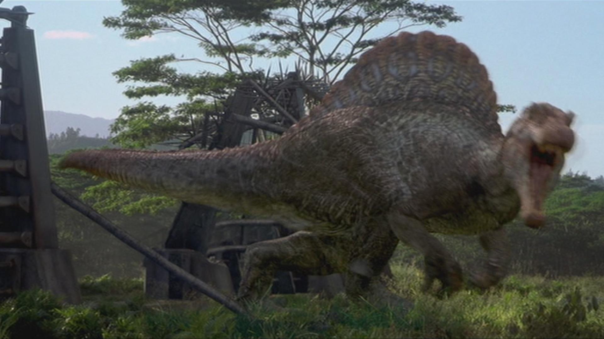 Spinosaurus park pedia jurassic park dinosaurs stephen spielberg - Spinosaurus jurassic park ...