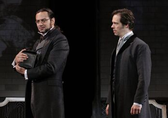 Jekyll and Utterson 2013 Broadway revival