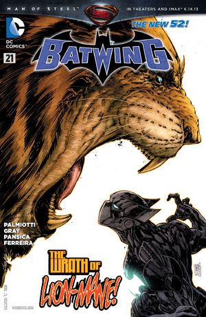 Cover for Batwing #21 (2013)