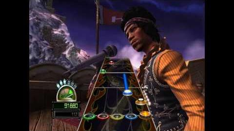 Guitar Hero World Tour - Jimi Hendrix · The Wind Cries Mary · Keyboard Hard Guitar