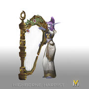 Highborne Harpist