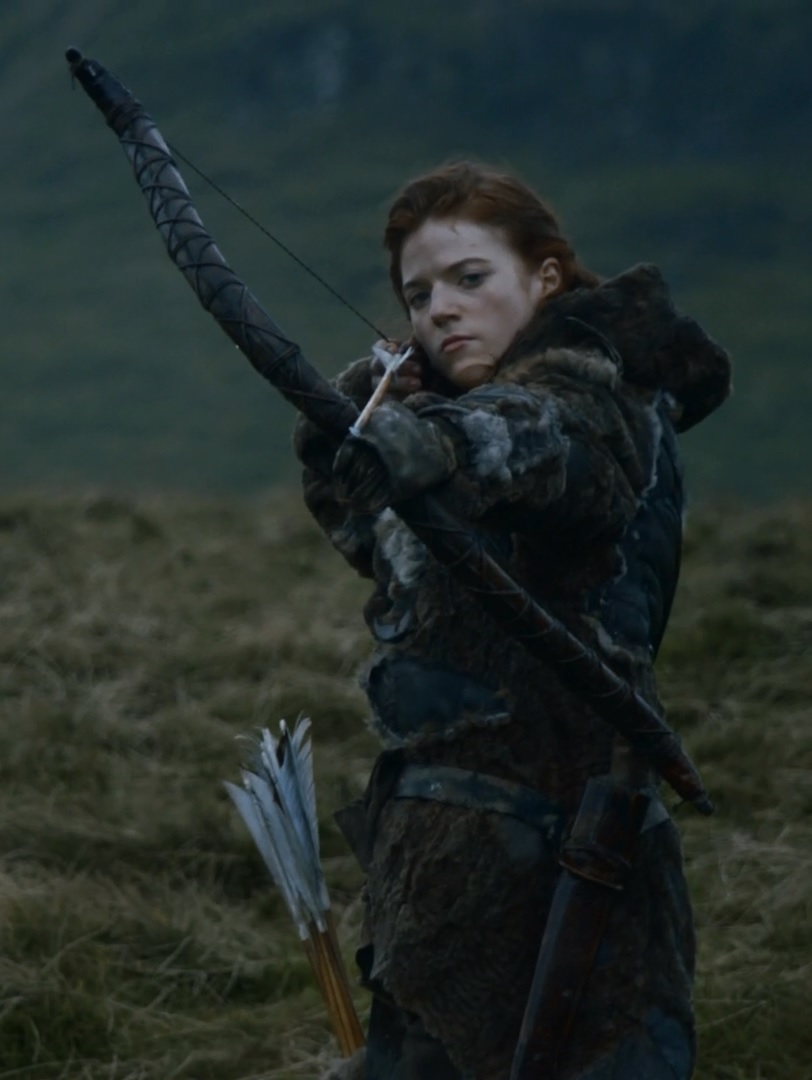 There similar rose leslie game of thrones accept. opinion
