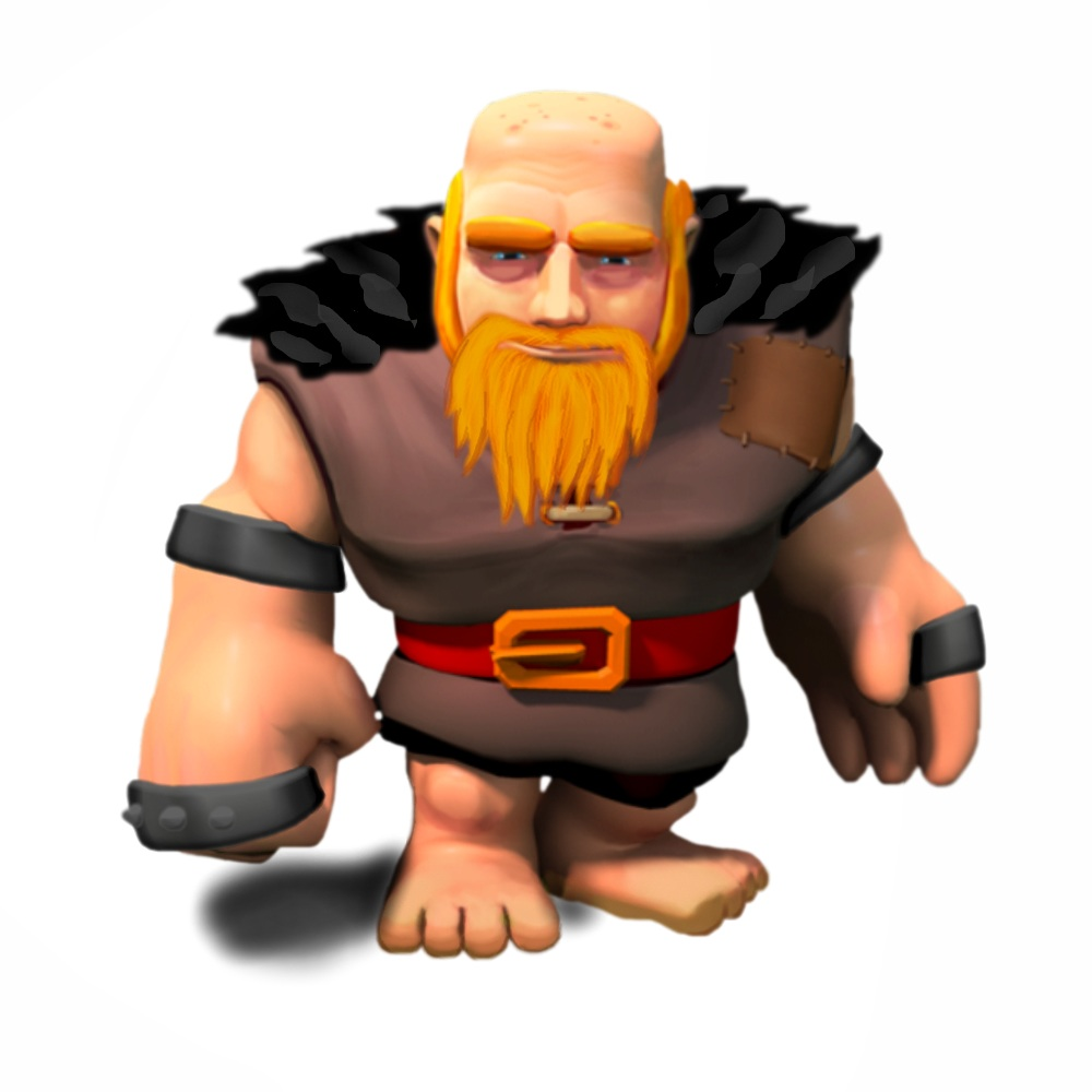 Clash of Clans Level 6 Giants