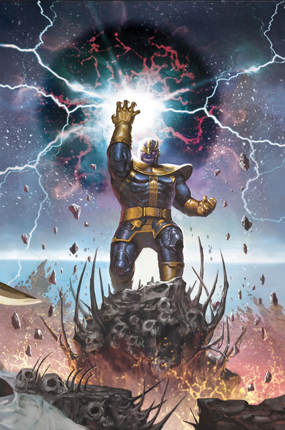 Infinity Vol 1 4 Generals Variant TextlessThanos Marvel Wallpaper
