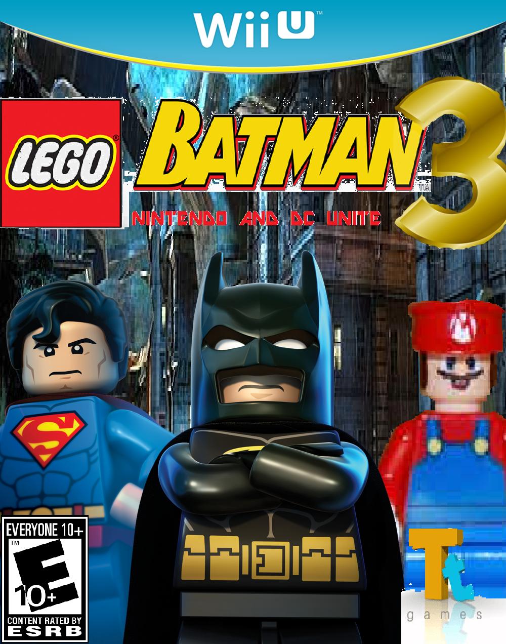 Lego Batman 3: Nintendo and DC Unite - Fantendo, the Video ...