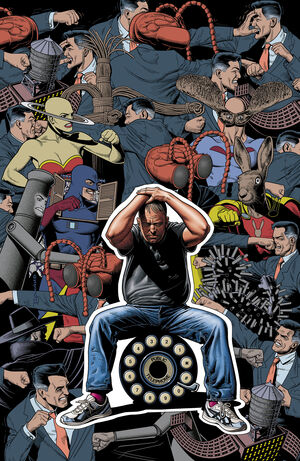 Cover for Dial H #15 (2013)
