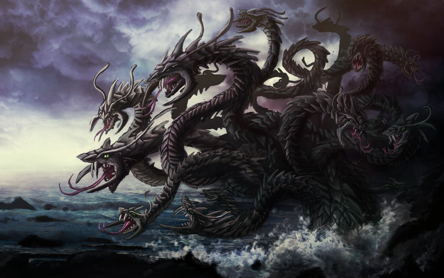 4 - Hydra - Monsters of Greek Mythology by Michael