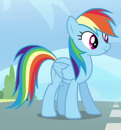 Rainbow Dash ID S3E7