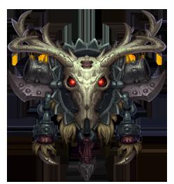Hunter crest