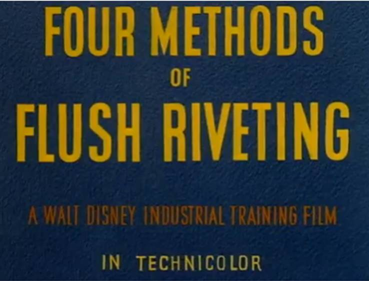 Four Methods of Flush Riveting - Disney Wiki