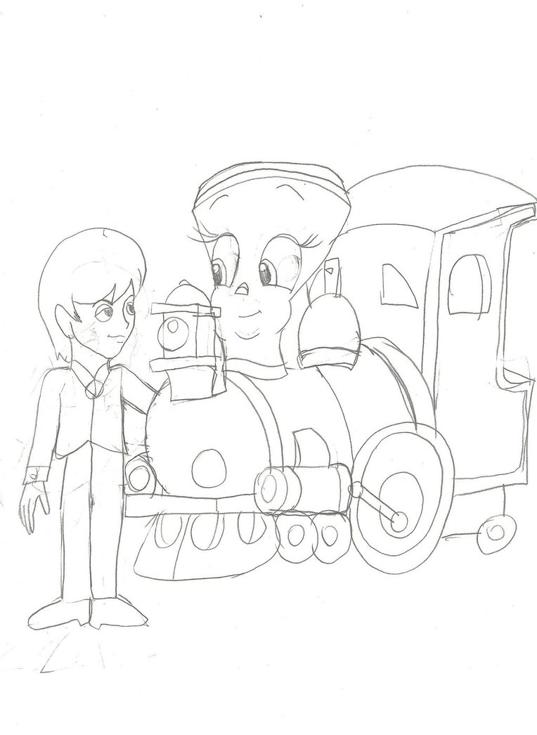 coloring pages circus train - photo#12