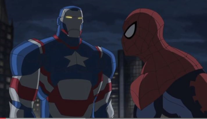 Spidey and Iron Patriot