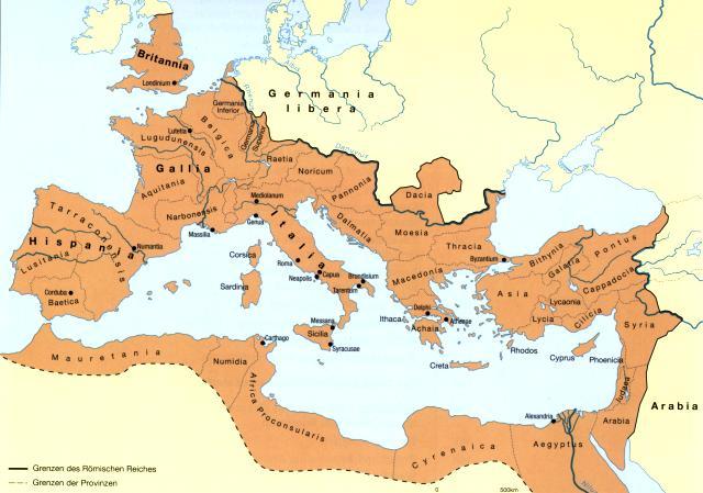 Römisches reich unter trajan der begriff der antike ist unklar im