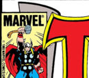 Marvel Staff Comic Appearances