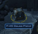 P-45 Gauss Pistol