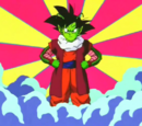 Hypothetical fusion of Goku and Dende