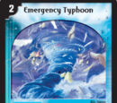 Emergency Typhoon