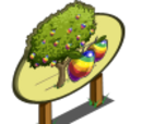 Rainbow Apple Tree