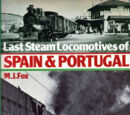 Last Steam Locomotives of Spain &amp; Portugal (libro, 1978)