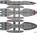 Columbia Class Battlestar (D8)
