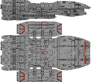 Poseidon Class Heavy Battlestar (D8)