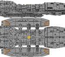 Atlantis Subclass Battlestar (D8)