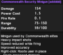 Commonwealth Security Minigun