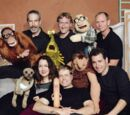 Puppet improv troupe