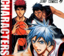 Kuroko no Basuke Official Fan Book CHARACTERS BIBLE