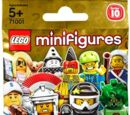 71001 Minifigures Series 10