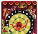 Muppet dartboard