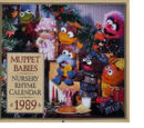 Muppet Babies Nursery Rhyme Calendar 1989