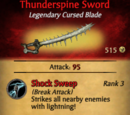 Thunderspine Sword