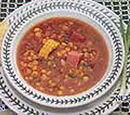 Corn Soup Tibetan-style
