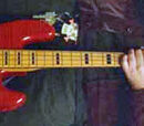 1993 Fender Jazz Bass, Red