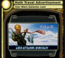 Hoth Travel Advertisement