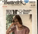 Butterick 3612 A