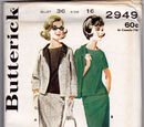 Butterick 2949 A