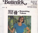 Butterick 5312 B