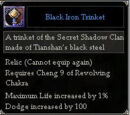 Black Iron Trinket