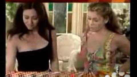 Shannen Doherty and Alyssa Milano Top 30 Celebrty Feud.