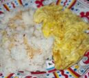 Scrambled Eggs with Rice