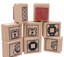 404800246 ROBOLAB Icon Rubber Stamps