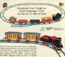 118 Motorized Freight or Passenger Train
