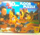 08098 Rose Art Floor Puzzle, Wild West 3D