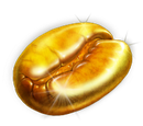 Gold Coffee Bean