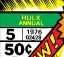 Incredible Hulk Annual Vol 1 5
