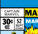 Captain Marvel Vol 1 52