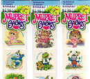 Muppet Babies stickers (Diamond Toymakers)